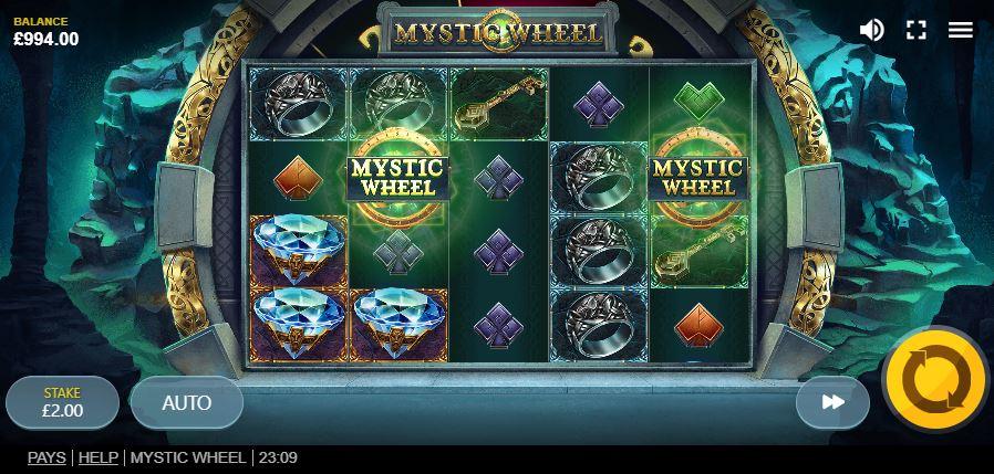 Слот ред тигер Mystic Wheel