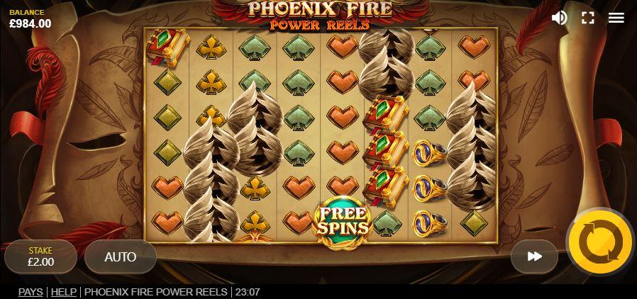 слот Phoenix Fire Power Reels