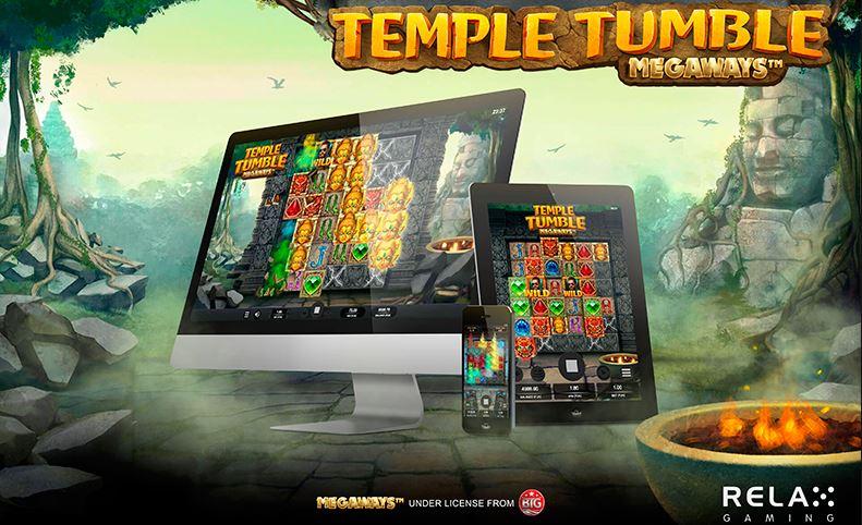 Слот релакс гейминг temple tumble